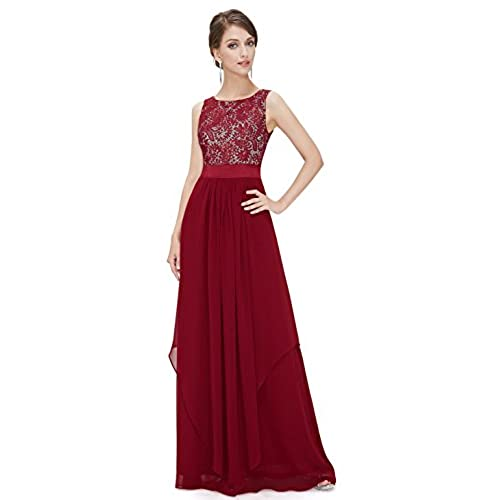 Ever Pretty Womens Fall Wedding Guest Dresses 16 US Red