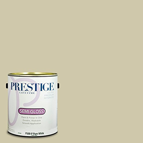 (Prestige Paints Interior Paint and Primer In One, 1-Gallon, Semi-Gloss,  Comparable Match of Benjamin Moore Flowering Herbs)