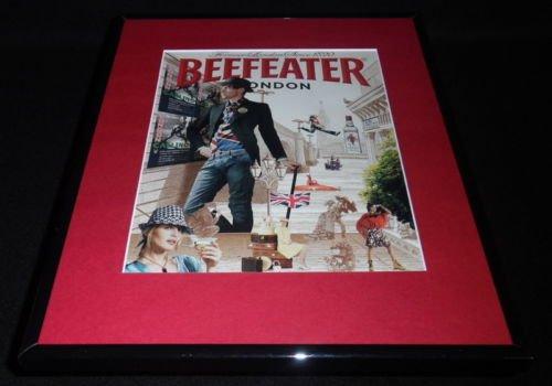 2007 Beefeater Gin Framed 11x14 ORIGINAL Vintage Advertisement