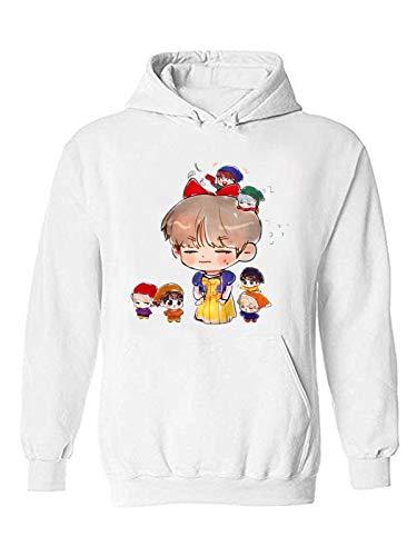 The Incredible BTS Funny Chibi BTS Halloween Costume K-Pop Hoodie Sweater RM Jin Suga J-Hope Jimin V Jungkook