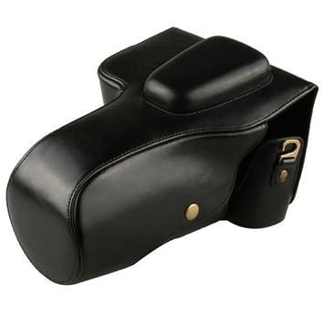 Funda de piel de imitación cámara, PU bolsa para cámara Nikon ...