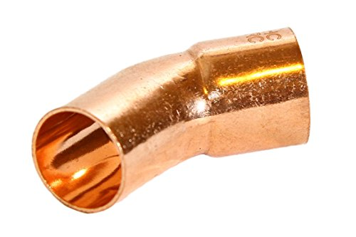 "1/2"" FTG x Copper 45 Street Elbow (Pack of 25pcs.)"