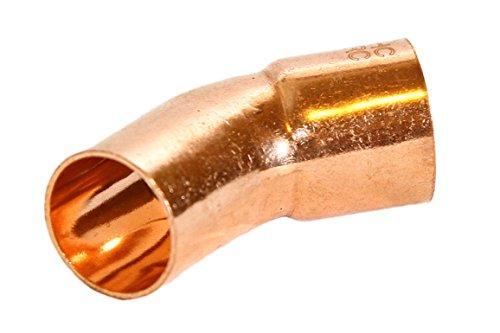 "25 pcs of 3/4"" FTG x Copper 45 Street Elbow"