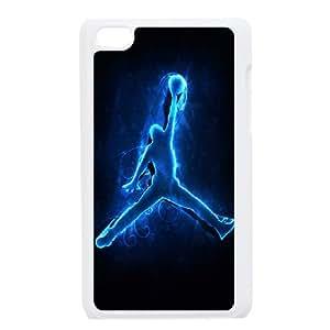 Custom Case Jordan Logo For Ipod Touch 4 Q3V613558