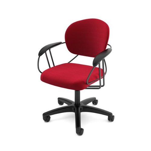 Beautiful Amazon.com: Turnstone By Steelcase Uno Chair, Rouge Fabric: Kitchen U0026 Dining