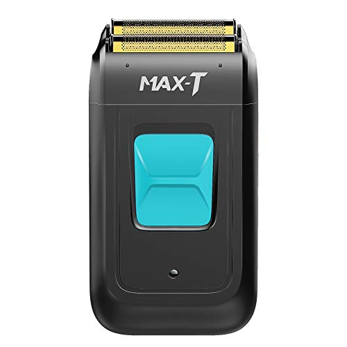 MAX-T Cordless Foil Shaver Electric Razor USB Travel with a Brush