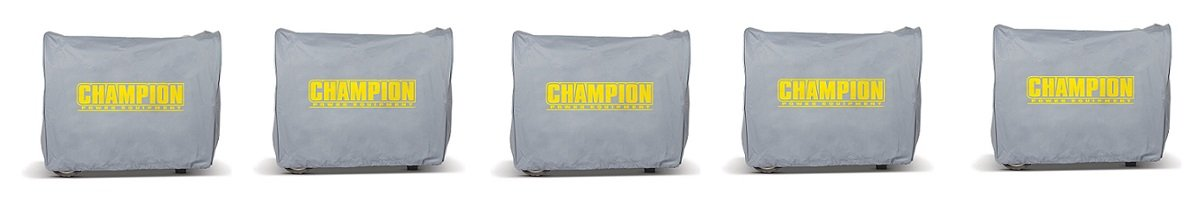 Champion Weather-Resistant Storage Cover for 2800-Watt or Higher Inverter Generators (5-Pack)