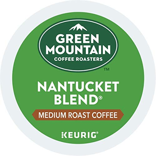 Green Mountain Coffee, Nantucket Blend, Single-Serve Keurig K-Cup Pods, Medium Roast, 72 Count (3 Boxes of 24 Pods)