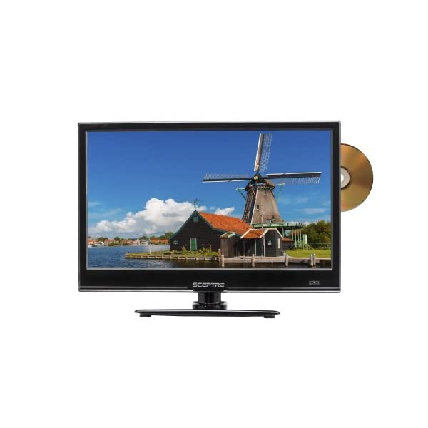 "Sceptre E246BD-SMQK 24.0"" 720p TV DVD Combination, True black (2017)"