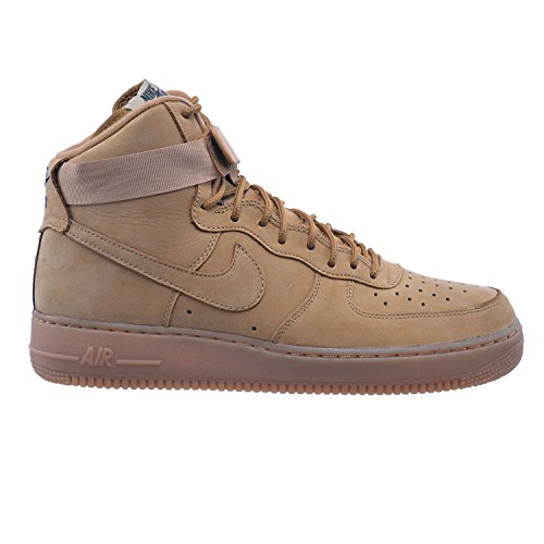 Nike Air Force 1 high 07 LV8 Men's Shoes Flax/Flax-Outdoor Green 806403-200