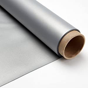 Carl's SilverScreen, Projector Screen Material, Silver, Passive 3D (16:9 | 71x126 | 144-in | Rolled)