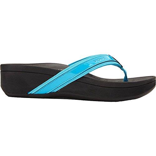 Vionic Women's High Tide Platform Sandal Turquoise 11 M by Vionic