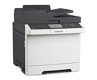 Lexmark CX410E Laser Multifunction Printer - Color - Copier/Fax/Printer/Scanner - 2400 x 600 dpi Print - Gigabit Ethernet - USB
