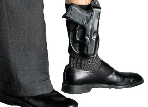 Galco AG250 Glove Ankle Holster for Sig Sauer P229, Right, Black from Galco