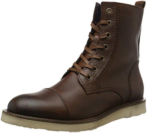 Marc O'Polo Herren 61022526301114 Lace Flatheel Bootie Chukka Boots Braun (Cognac 720)