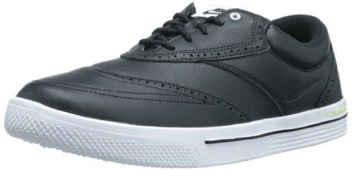 Nike Golf Men's Nike Lunar Swingtip Leather Golf Shoe,Bla...
