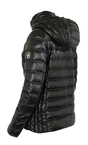 MICHAEL Michael Kors Women's Down Short Packable Puffer Jacket - Black (Small)