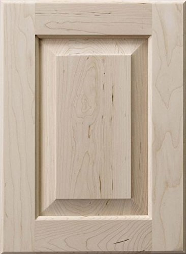 Cabinet Doors 'N' More 13'' X 28'' Unfinished Paint Grade Hard Maple Raised Square Panel Kitchen Cabinet Door by Cabinet Doors 'N' More