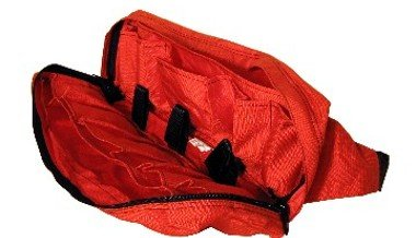 Made in USA Tough Traveler Ski Patrol Waistpack