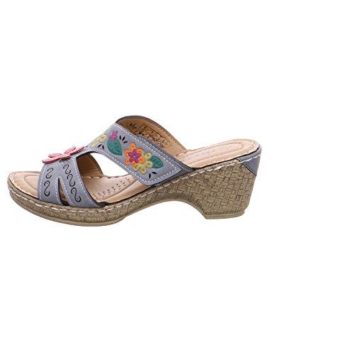 TOM TAILOR 2727805/00190 - Sandalias de vestir para mujer morado