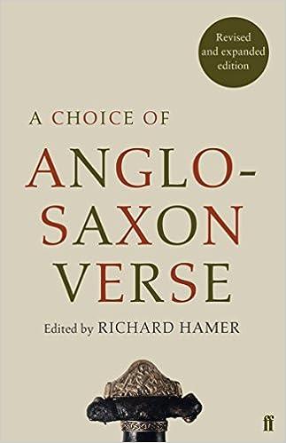 A Choice Of Anglo-saxon Verse por Richard Hamer epub