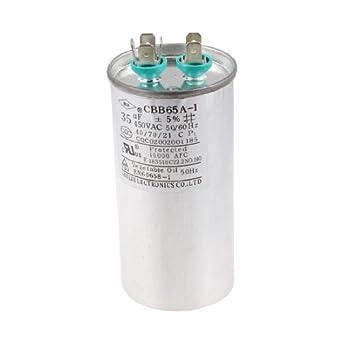 DealMux CBB65A-1 Nevera de funcionamiento del motor capacitor 35uF ...