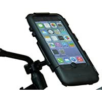 Waterproof Bike Motorcycle Scooter Tough Case Mirror Mount for iPhone 6 PLUS (sku 31521)