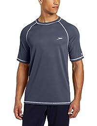 Speedo Men's UPF 50+ Short-Sleeve Rashguard