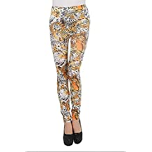 High Quality Women's Fashion Printing Pants Leggings (Tiger)