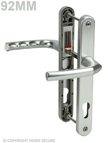uPVC Door Handles - Lever Lever - D03 - Silver by Secure Home