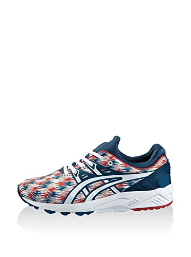 Baskets Bleu kayano Gel blanc rouge Mixte Asics Basses Evo Adulte Trainer gZIPRRwaq