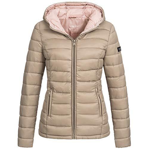 Marikoo Lucy Damen Stepp Jacke Parka Winter Stepppjacke Übergangsjacke  gesteppt Übergang warm XS-XXL 10-Farben  Amazon.de  Bekleidung f25906a5c2