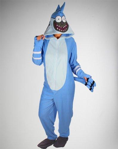 Regular Show: Mordecai Union Suit - -