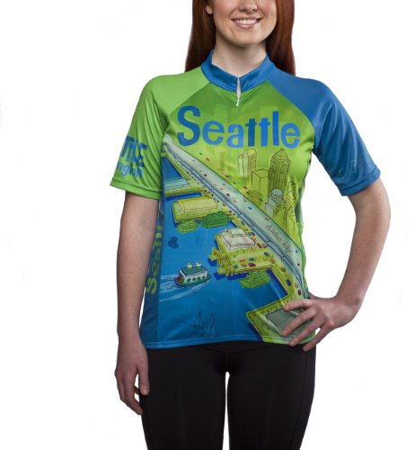 Larry Gets Lost in Seattle Cycling Jersey, Women's