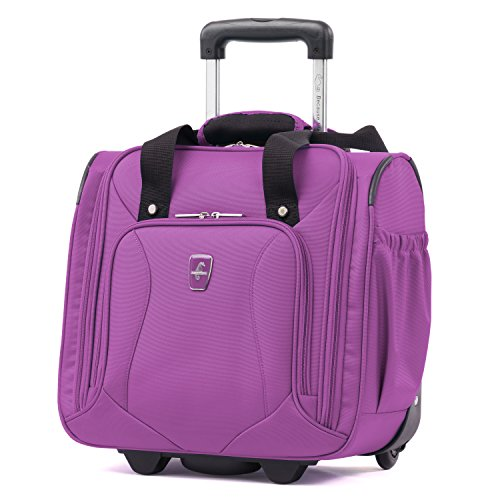 Atlantic Ultra Lite Softsides Rolling Underseat Carry-on, Bright Violet ()