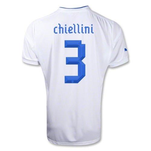 Puma Chiellini # 3 Italy Away Jersey 2012 / 2013 B008CGRDOUXL