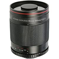 Danubia Telephoto f8.0 500mm T2 Mount Mirror Lens [254002]