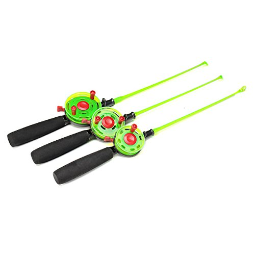 Fishing Rods - 49/50/51cm Mini Ice Fishing Rod Fishing Reels - Mini Fishing Rod And Reel Pen Pole Gear Ultralight Ultra Light Combo Poles - Ice - 1PCs