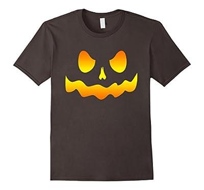 Funny Pumpkin Face T Shirt Halloween Jack O Lantern