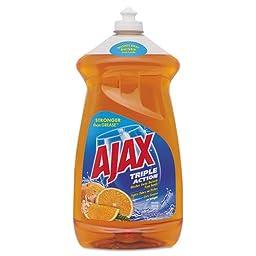 Ajax Triple Action Dish Detergent, Orange, 52 oz.. Bottle (6/Carton) - BMC- CPC49860CT