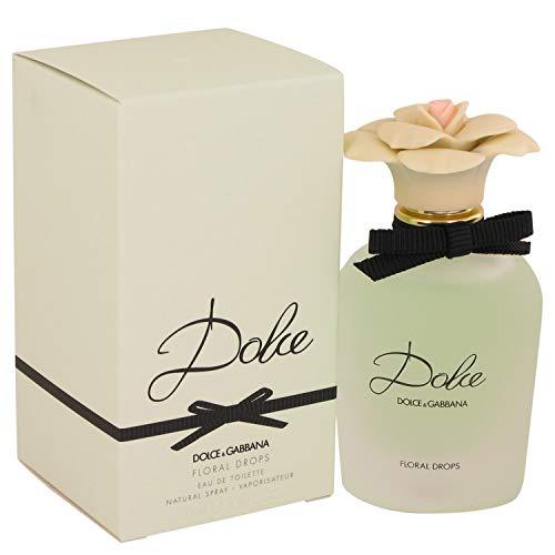 Dolce Floral Drops by Dólcé & Gábbáná for Women Eau DE Toilette Spray 1.7 oz