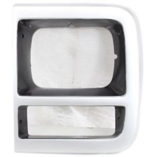 CPP GM2512181 Left Primed Headlight Door for Chevy Box Truck, G20, P30, Van ()