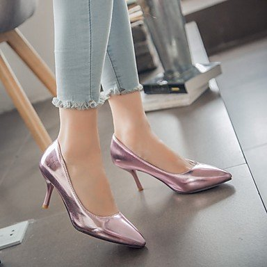 pwne Las Mujeres Sandalias De Verano Caen Club Zapatos Zapatos Formales Comfort Novedad Oficina Exterior De Piel Sintética Pu &Amp; Carrera Parte &Amp; Casual Vestido De Noche US8 / EU39 / UK6 / CN39