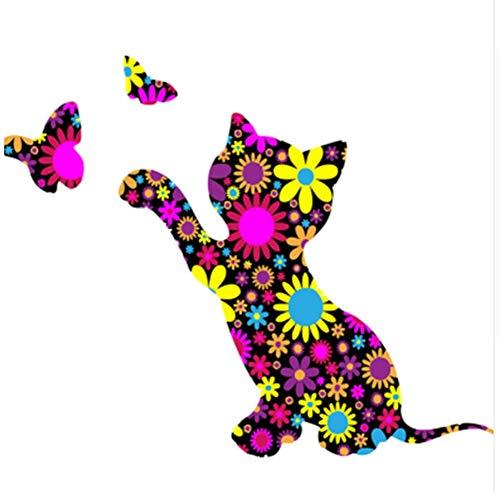 CZYYOU CZYYOU CZYYOU Bild Katze DIY Malen Nach Zahlen Bunte Bild Home Decor Für Wohnzimmer Hand Einzigartige Geschenke 40x50cm-Mit Rahmen B07PRWDB1Y | Tragen-wider  c77768