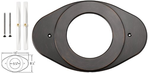 Delta RP29827RB Shower Renovation Cover Plate, Venetian Bronze