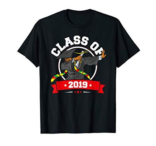 Dabbing Graduation Class Of 2019 TShirt Black History Month (Best Class T Shirts)
