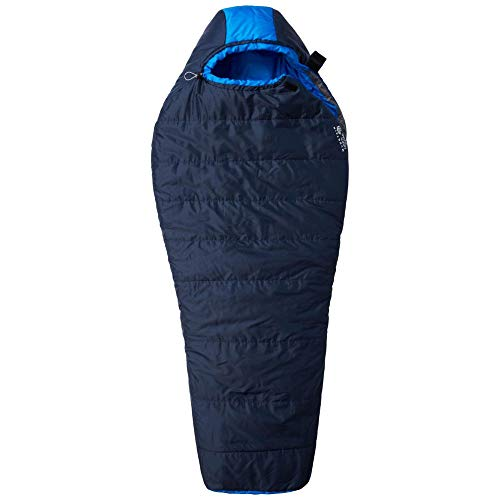 Mountain Hardwear Bozeman Flame–Collegiate Navy, Azul Marino Collegiate, Long/Left Zip