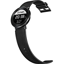 Huawei Fit Large Activity Tracker (Titanium Grey Case, Black Sport Band)
