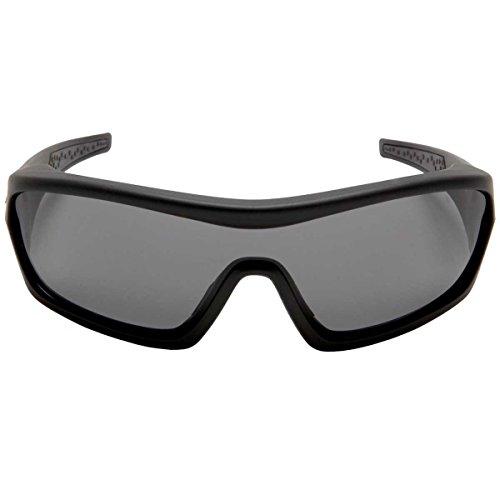 Zan Headgear Enforcer Interchangeable Men's Bobster Sunglasses - Matte Black
