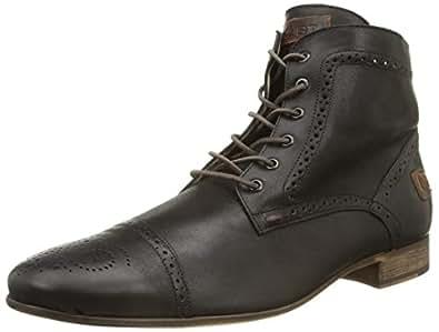 Kost Torcol69 - Zapatos de cordones de cuero para hombre marrón marrón 42 9Qu9eXZJwg